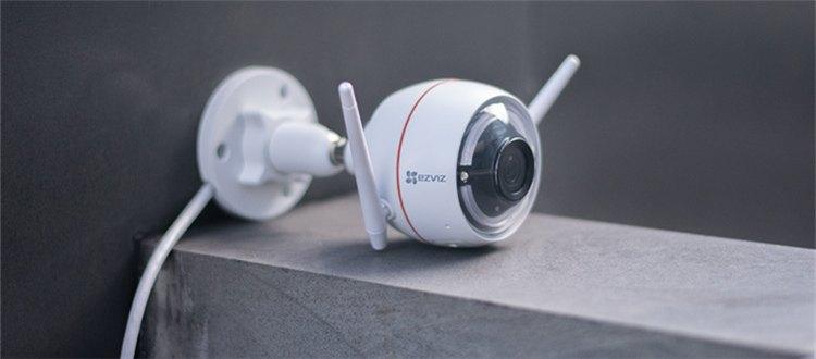 视频 萤石C3W壁挂式互联网摄像机安装教程(下)