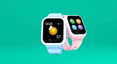 新品   能视频看护的萤石儿童可视安全手表正式预售