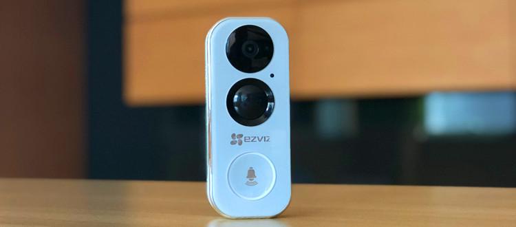 开箱晒物 | 萤石DB2智能可视门铃,为你坚守门外安全