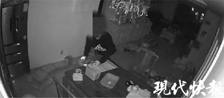 苏州一男子徒手爬五楼盗窃,偷化妆品和袜子送女友