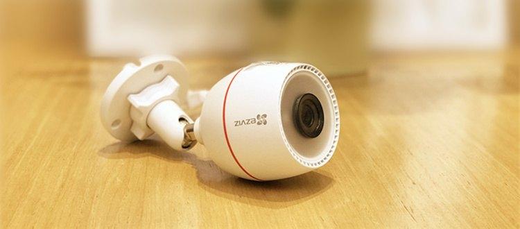 告别复杂,一根网线就解决供电,尽在C3T壁挂式互联网摄像机(POE版)!