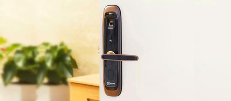 视频 DL21S家用互联网指纹密码锁安装教程