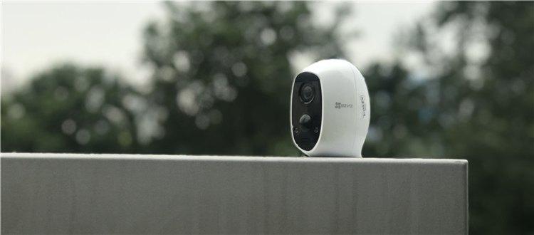 走廊、过道等铺设电源线较困难?这次就让全无线互联网电池摄像机C3A来帮你!