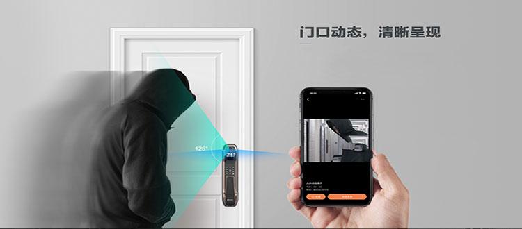 你家的门锁安全吗?萤石视频锁DL30VS可视守卫,看得见更安全!