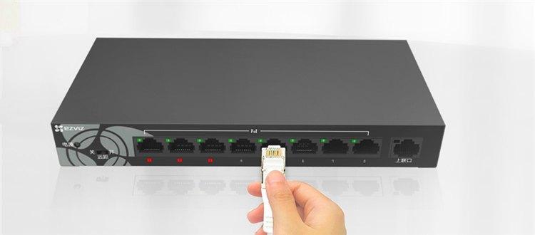 大范围组网更方便:萤石新款W6 8POE网口版交换机了解下!