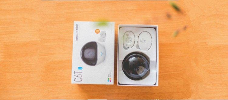 视频|萤石C6T智能云台网络摄像机安装教程