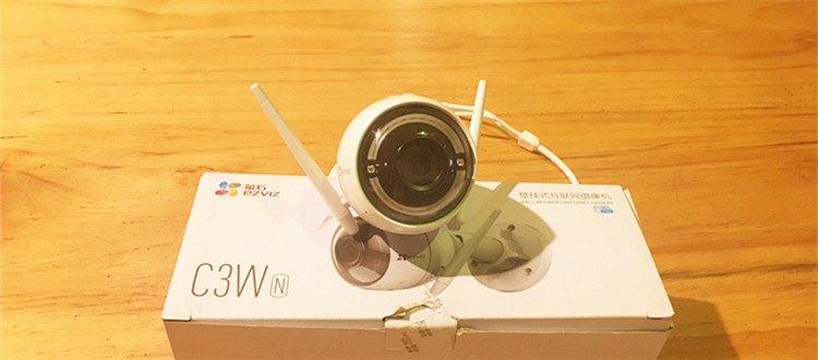 开箱晒物:萤石新品C3WN高清互联网摄像机