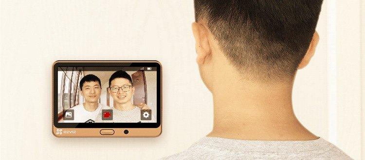 视频 人体感应告警,DP1智能猫眼让你及时知晓门外异常!