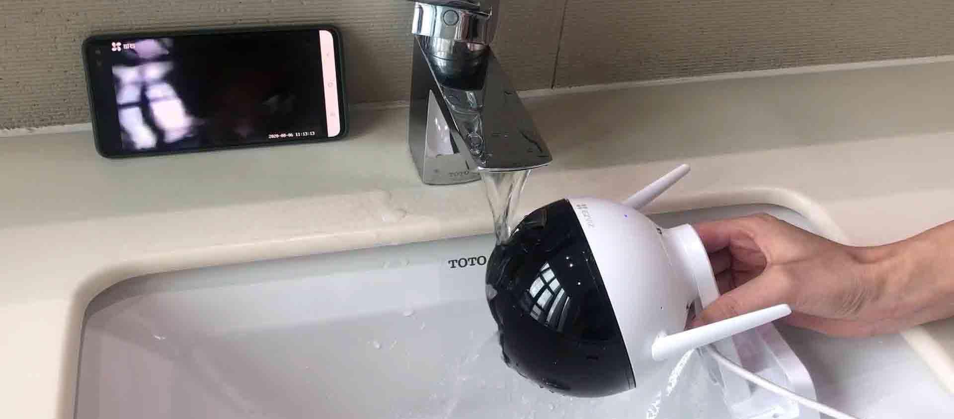视频丨C8摄像头防水效果怎么样?看这里就知道!