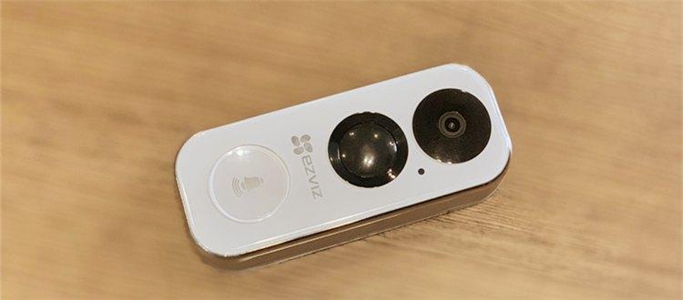新品丨萤石无线Wi-Fi电池可视门铃DB2高清可视,门外来访一目了然!