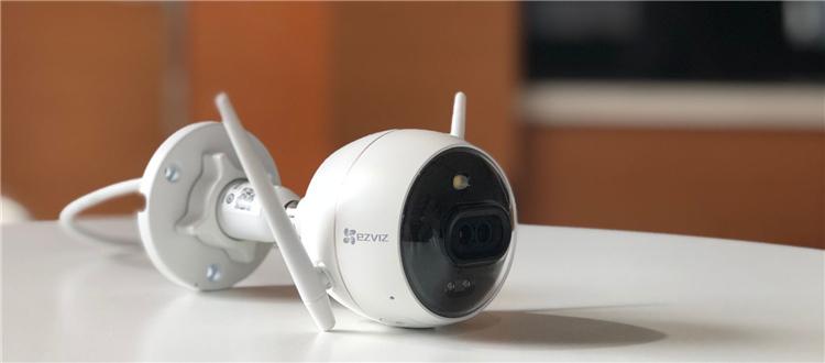 新品开箱晒物 萤石C3X无线版智能双摄互联网摄像机,暗光也多彩!