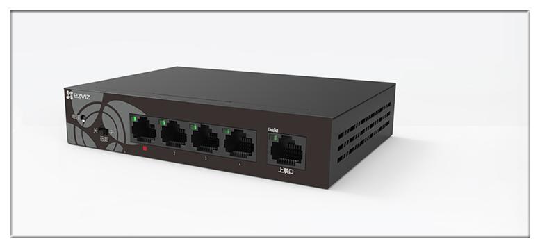 新品丨萤石首款全千兆交换机W6上市,优化监控与智能设备接入