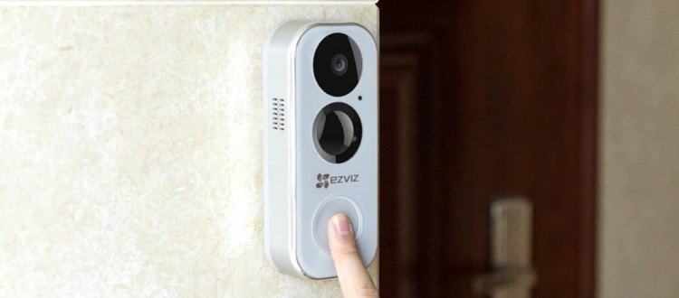 新品丨螢石無線Wi-Fi電池可視門鈴DB2高清可視,門外來訪一目了然!