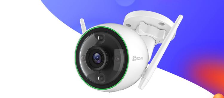 新品   C3C全彩标准版互联网摄像机,让黑夜也光彩!
