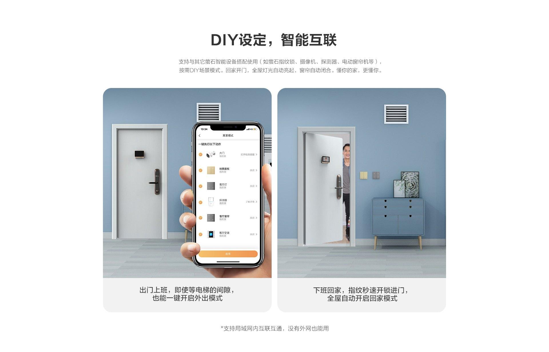 DIY设定,智能互联